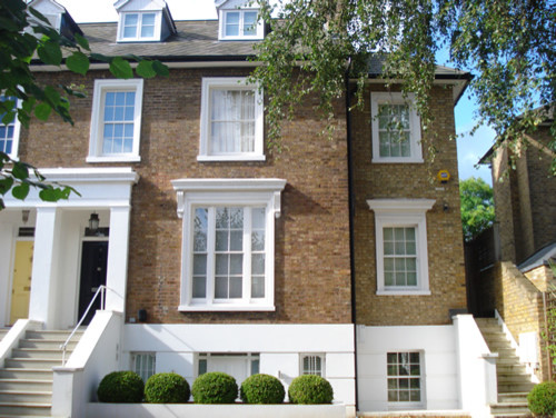 Inspiration for a timeless exterior home remodel in London