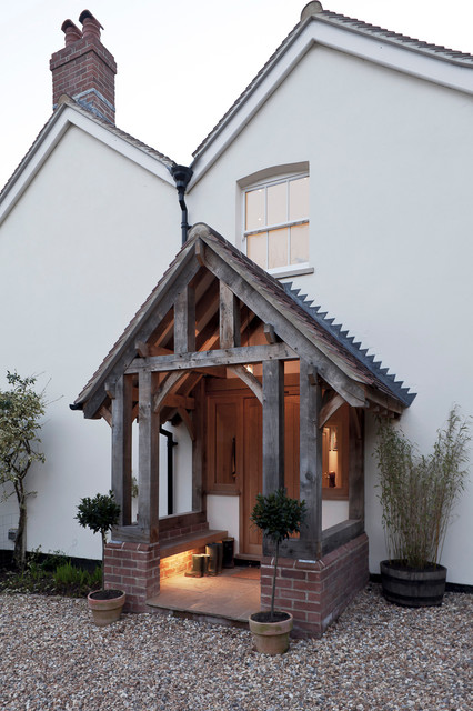 Traditional Exterior farmhouse-exterior