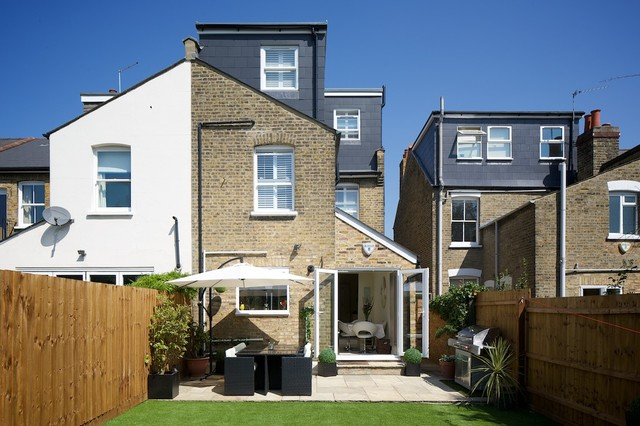 loft conversion ideas for bungalows - L Shaped Dormer in SW19