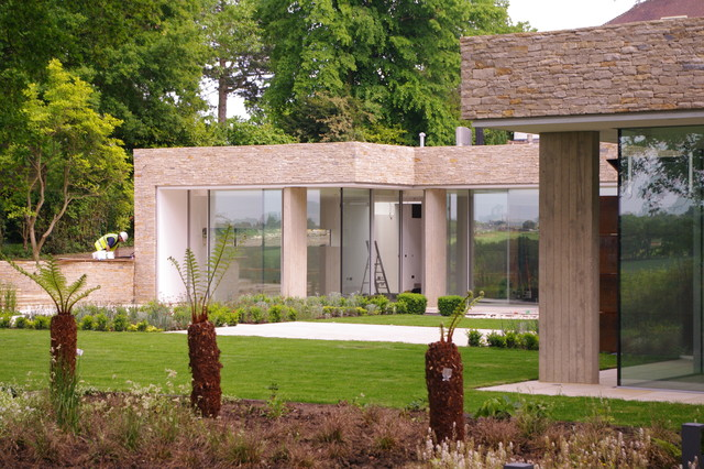 Underground House Contemporary Exterior London By