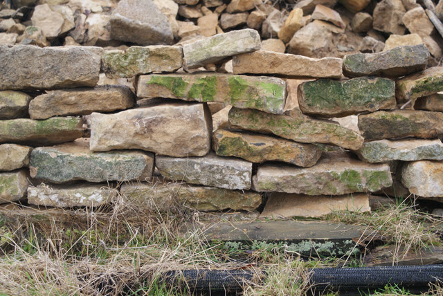 Weathered Granite Stone : Weathered natural stone rustic exterior south west