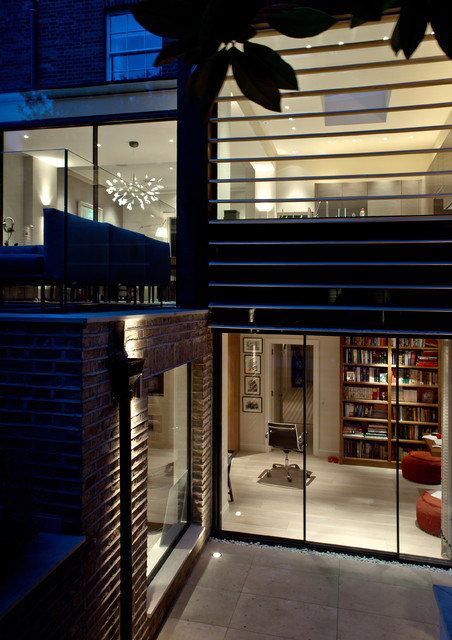 Westbourne grove london contemporary exterior for Kitchen ideas westbourne grove