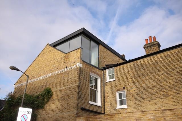 Wroughton Road Clapham Contemporary Exterior London By Pva Developments