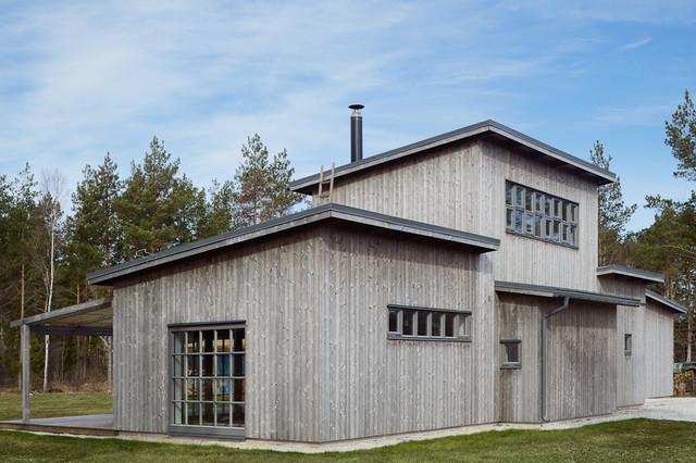 Villa P&L - Skandinavisk - Fasad - Annan - av m.arkitektur