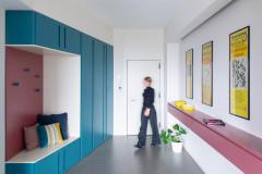 Houzz Италия Квартира со шкафом-воронкой в прихожей (17 photos)