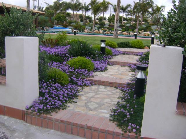 Foto con piante striscianti e cespugli misti for Piante per ingresso esterno