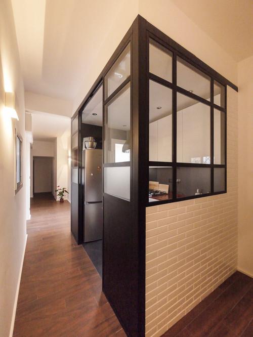 Info su vetrata tra cucina e salone - Cucine con vetrate ...