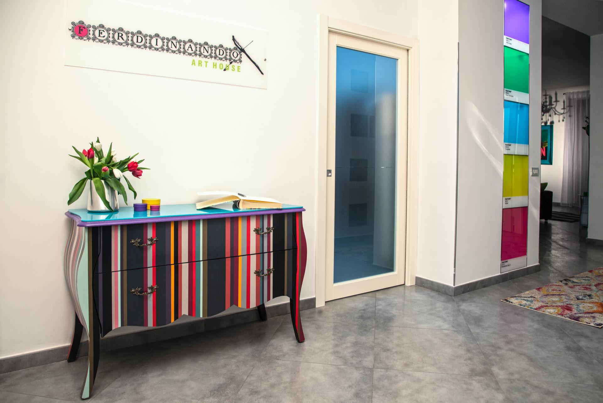 Progetto decorativo per una Casa Vacanze a Napoli
