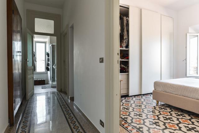 Ristrutturazione appartamento roma porta maggiore for Appartamento design roma