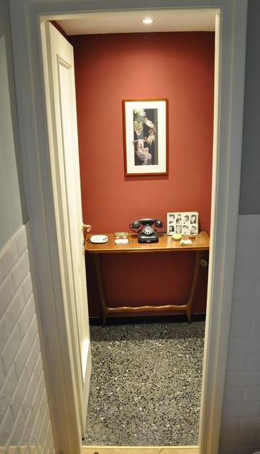 Ristrutturazione appartamento - San Matteo contemporaneo-corridoio