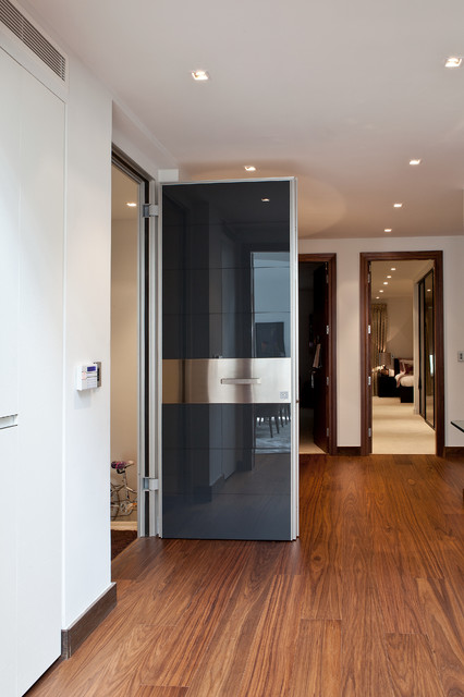 Design ideas for a contemporary entrance in London.