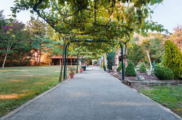 Casa g e es r stico jard n bilbao de premium views for Jardines de bilbao