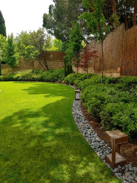 CHALET MORALEJA contemporaneo-jardin