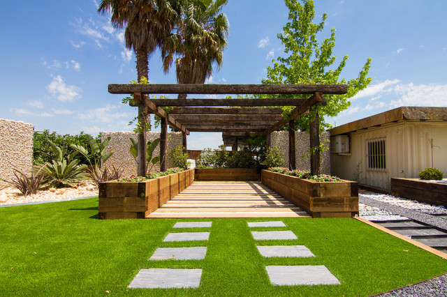 Exposici n jard pond ex tico jard n barcelona de for Organizar jardin exterior
