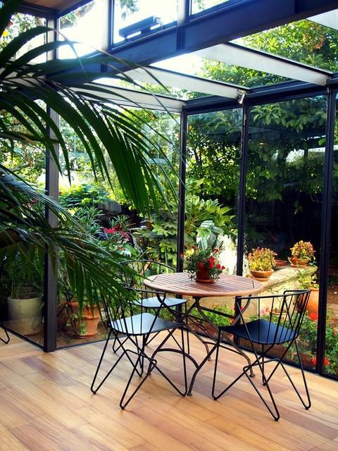 Invernadero costa vella contemporain jardin autres p rim tres par ansede quint ns - Jardin invernadero ...