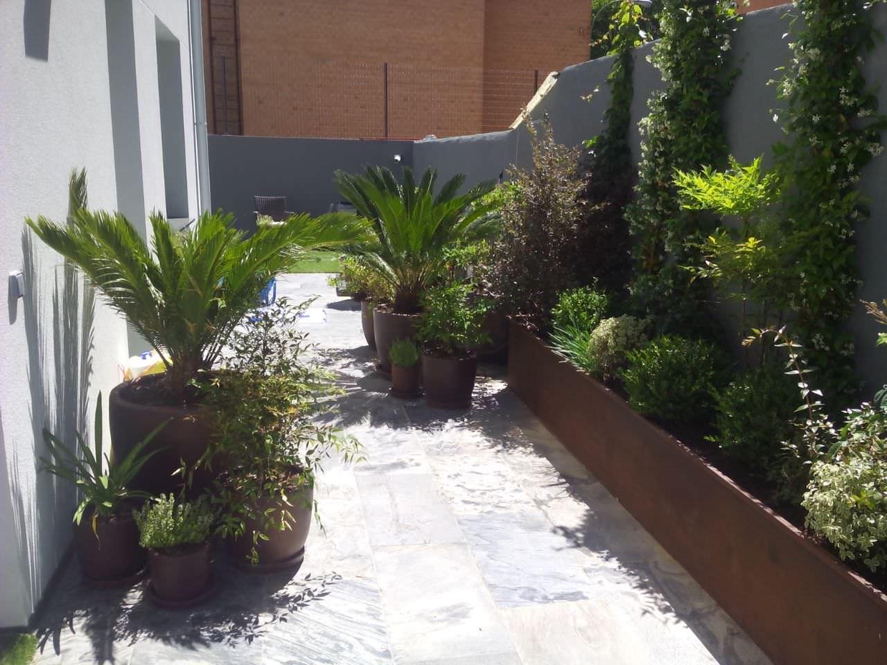 Jardín Vivienda Madrid