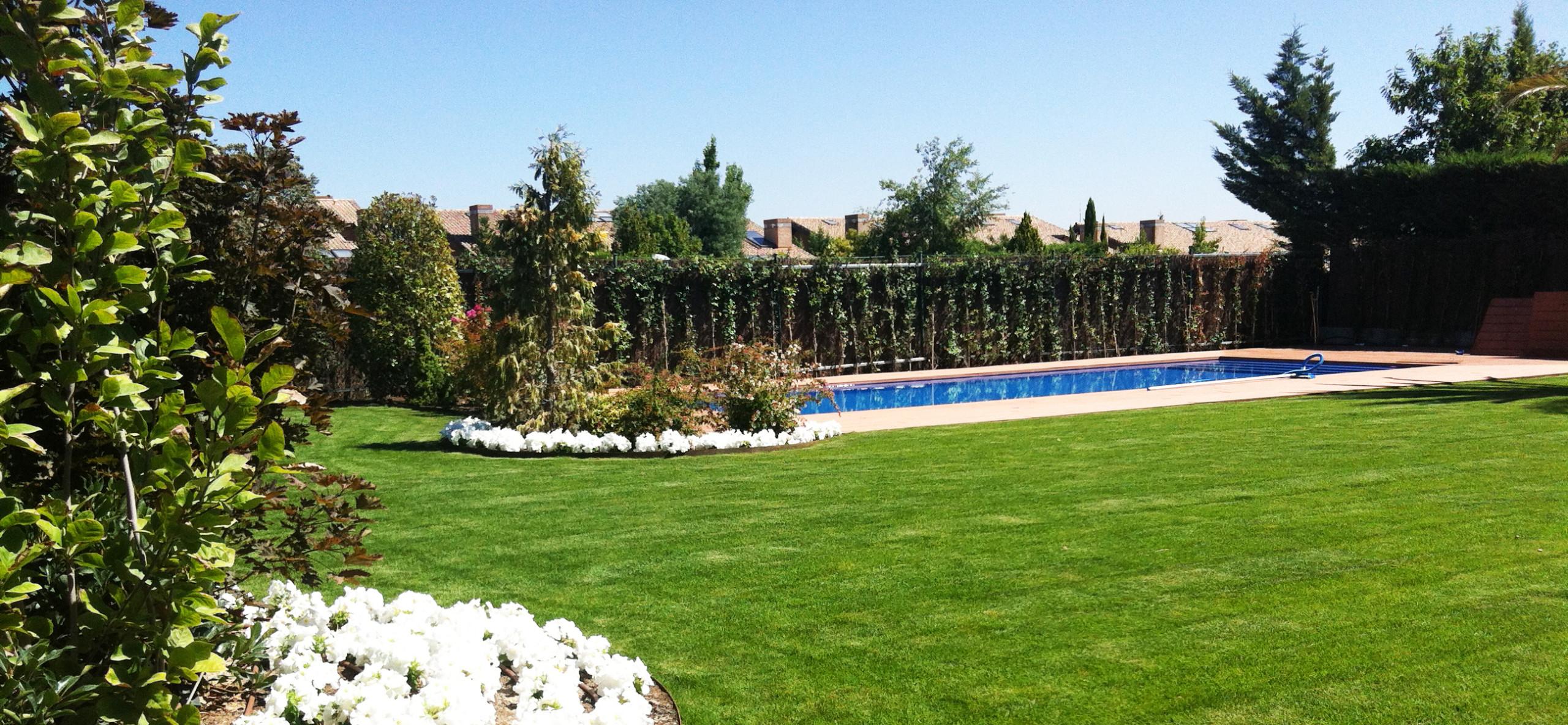 Jardín Vivienda particular Pozuelo