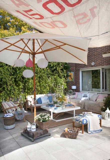 Transformaci n casa familiar en madrid rom ntico for Casa jardin madrid