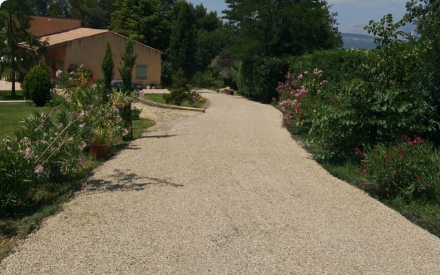 Allée de garage en Gravistar® - Klassisch - Garten ...