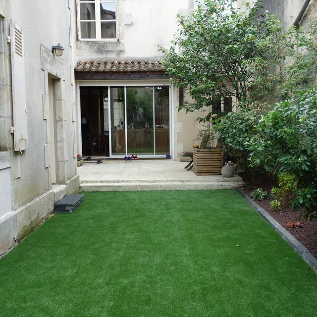 Amenagement Petit Jardin Avec Terrasse Et Piscine Belle ...