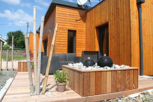 Aménagement d\'une terrasse en ipé esprit zen - Asiatisch ...