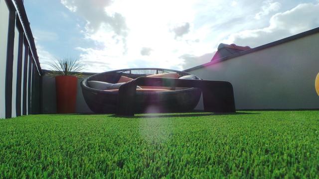 am nagement de terrasses contemporary garden rennes by florence vatelot d coratrice d. Black Bedroom Furniture Sets. Home Design Ideas