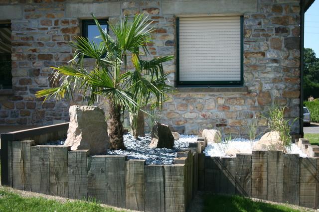 am nagement devant une long re campagne jardin rennes par eurl olivier dubois. Black Bedroom Furniture Sets. Home Design Ideas