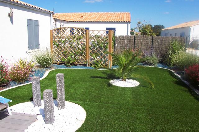 barres de schiste moderne jardin autres p rim tres par cornuaud paysage. Black Bedroom Furniture Sets. Home Design Ideas