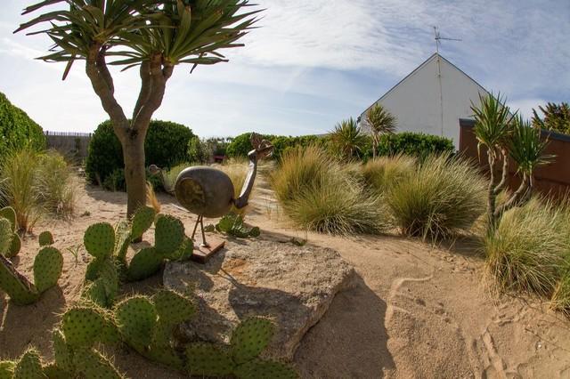 Cr ation d 39 un jardin sur des dunes en bord de mer bord for Jardin de bord de mer