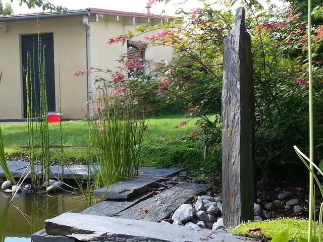 Cr ation et r alisation d 39 un jardin avec bassin bordeaux - Amenagement jardin avec bassin ...
