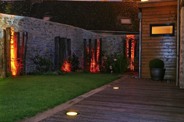 eclairage jardin nantes