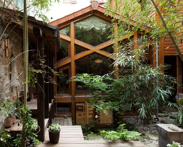int rieurs asiatique jardin paris par alexis toureau. Black Bedroom Furniture Sets. Home Design Ideas