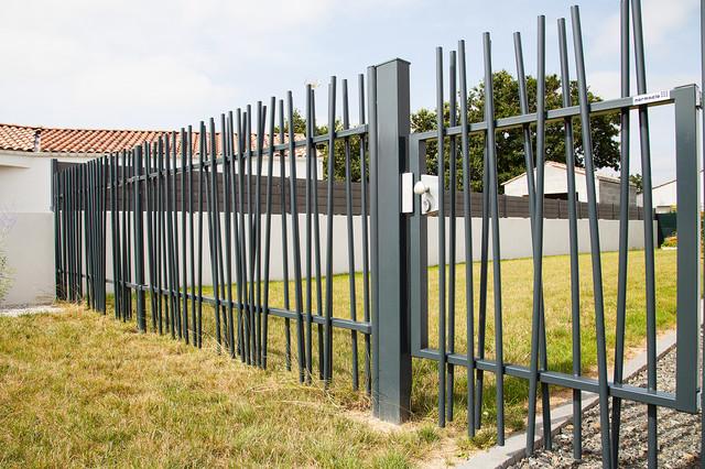 Jardin avant - Moderne - Jardin - Autres périmètres - par Jardins de ...