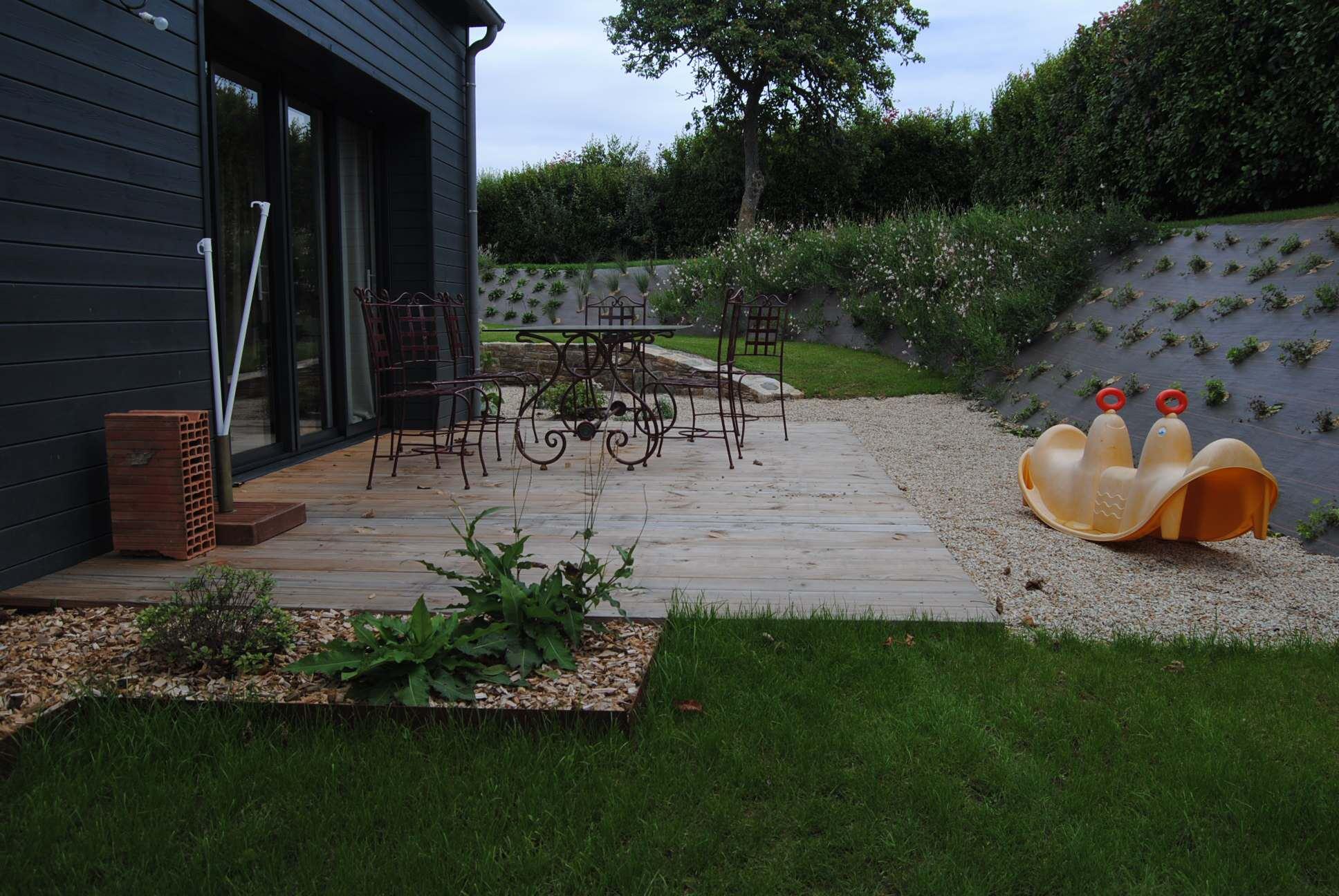 Jardin champêtre/moderne