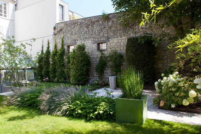 Jardin contemporain contemporary landscape paris for Jardin paysager contemporain