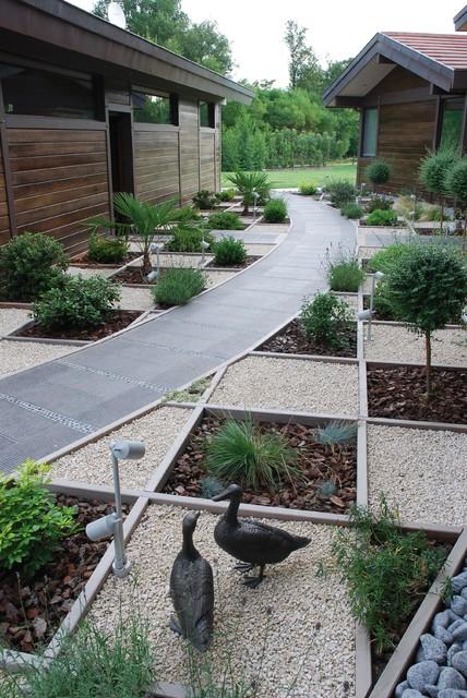 Jardin contemporain - Modern - Garten - Lyon - von I.D.O jardins