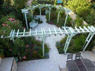 Jardin de ville l 39 italienne m diterran en jardin - Mobilier jardin witry les reims villeurbanne ...