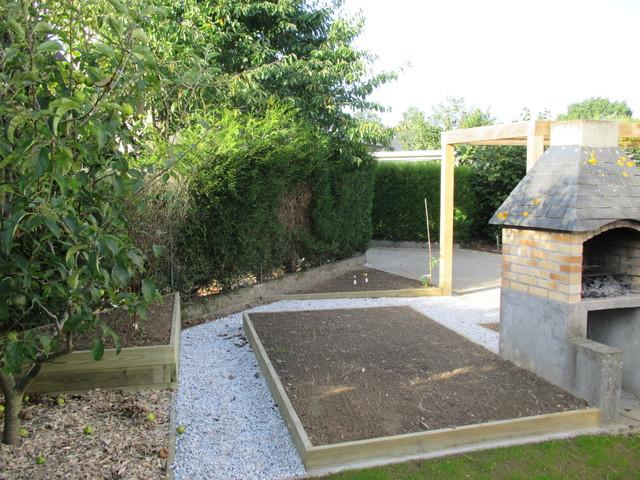 Jardin de ville contemporain jardin rennes par for Plan jardin contemporain