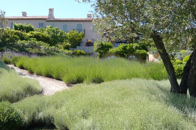 Jardin m diterran en m diterran en jardin marseille par vertigo paysage - Jardin contemporain pente marseille ...