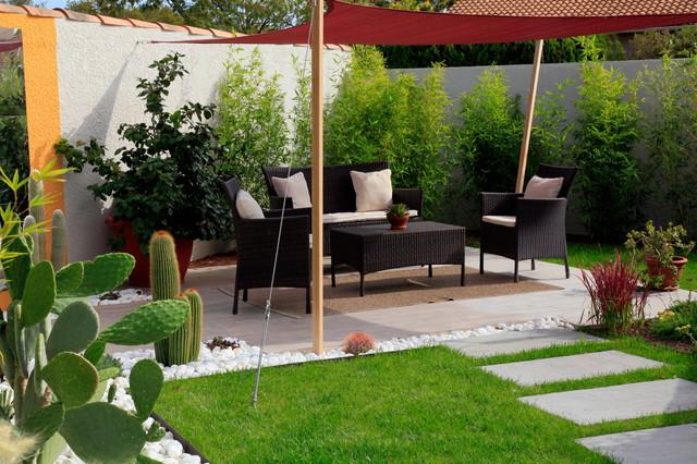Jardin mexicain exotique jardin marseille par for Idee plantation jardin
