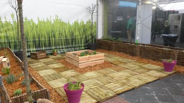 jardin potager ephemere contemporain jardin autres p rim tres par l 39 essence du jardin. Black Bedroom Furniture Sets. Home Design Ideas