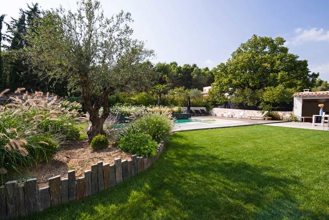 Jardin Provencal D Inspiration Contemporaine Contemporary
