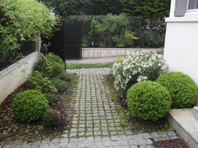 Jardin romantique shabby chic style landscape other for Style shabby romantique