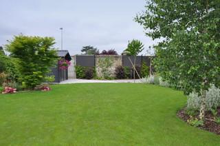 Shabby-Chic-Style Outdoor-Gestaltung mit Gartenmauer Ideen ...