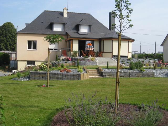 Jardins à plusieurs niveaux contemporary-landscape