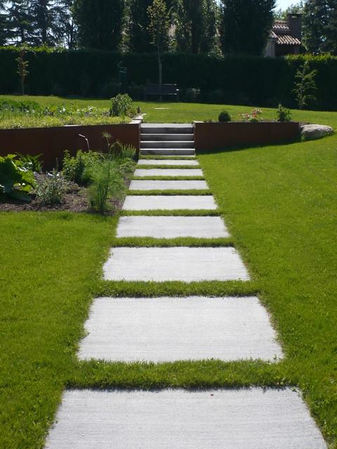 jardins contemporains contemporain jardin nantes. Black Bedroom Furniture Sets. Home Design Ideas