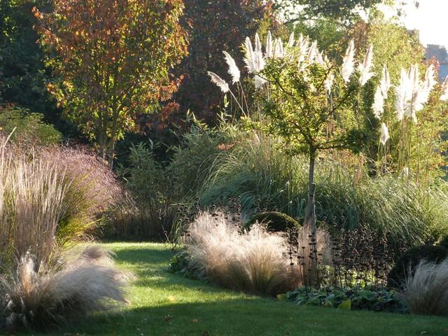 Jardins de gramin es contemporary garden rennes by - Jardin de graminees photos ...