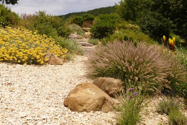 Jardins Sec Sans Arrosage Mediterranean Garden Grenoble