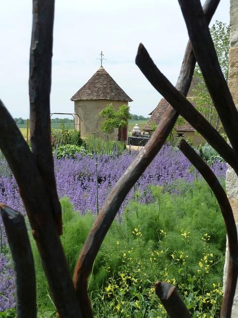 Les Jardins du Montperthuis contemporain-jardin