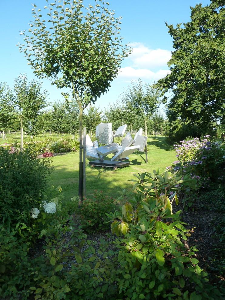Idées déco pour un jardin contemporain.